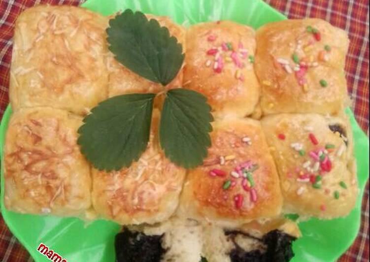 Roti Sobek empuk (Cloud bread)