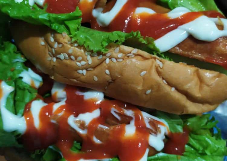 Hot dog ala ala😅