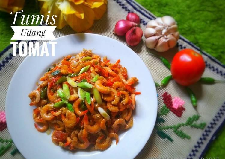 Tumis Udang Tomat(#Pr_OlahanUdang)