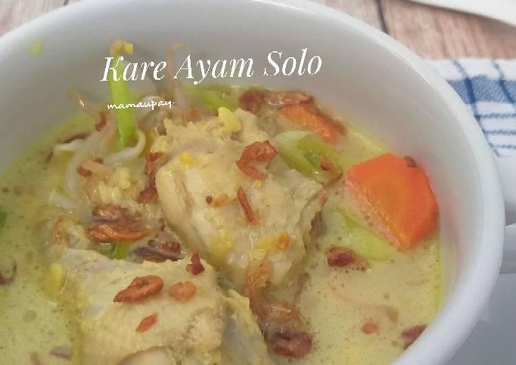 Kare Ayam Solo