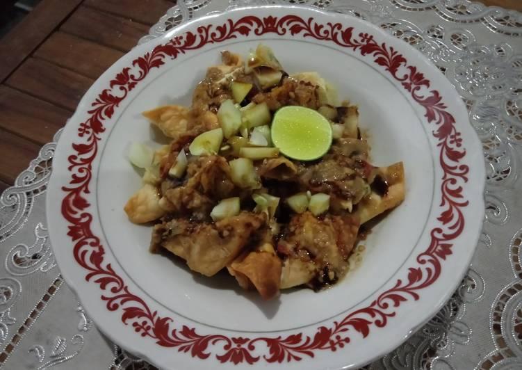 resep cara buat Batagor Tanpa Ikan