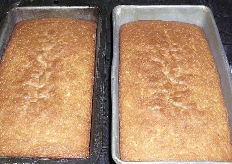 Upstate NY Buttermilk Pound Cake