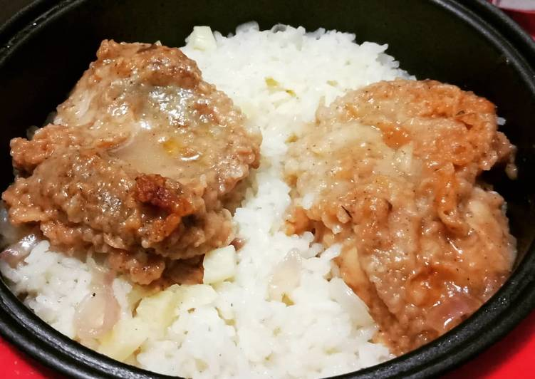 Nasi Ayam KFC Liwet