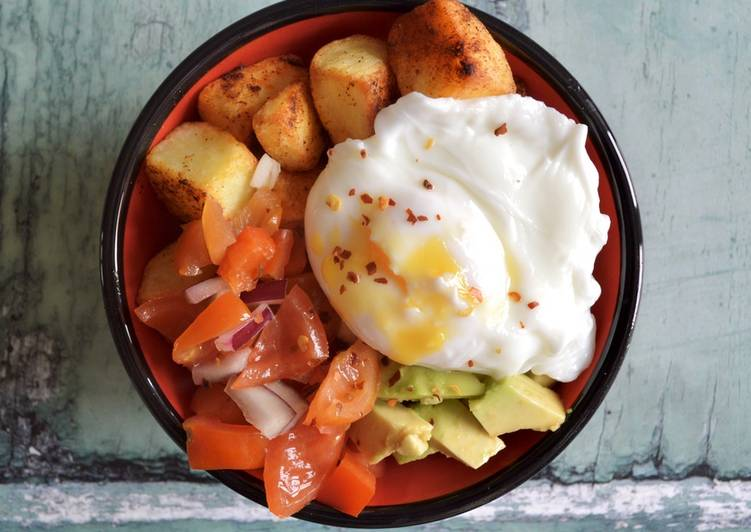 Mexican Potatoes and Eggs