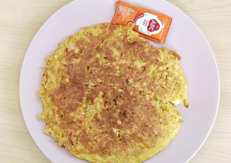 Resep Omelet Mie Sehat untuk anak Terbaik