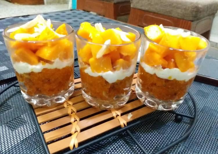 How to Make Favorite Carrot Halwa Parfait