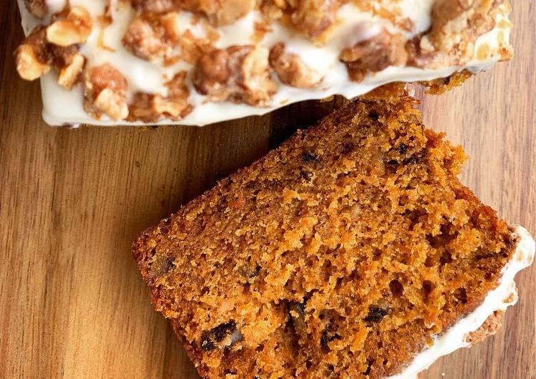 Carrot cake recette du grand chef M.Philippe Conticcini @4PassionFood