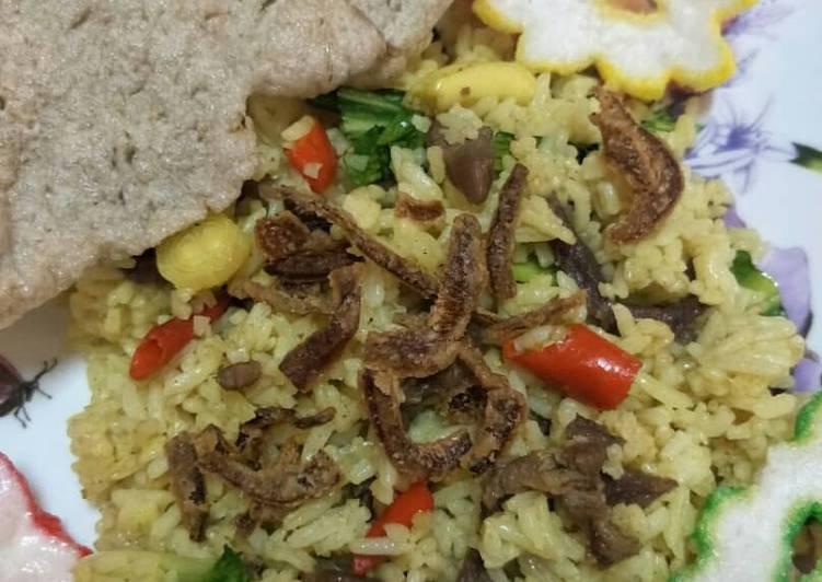 Resepi: Nasi Goreng Daging  Terbaru