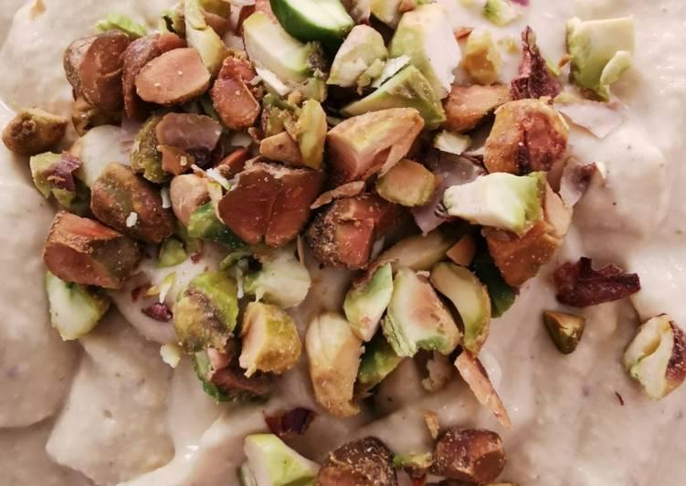 Hummus con pistache