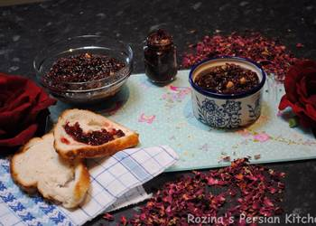 Easiest Way to Prepare Delicious Persian rose petals jam