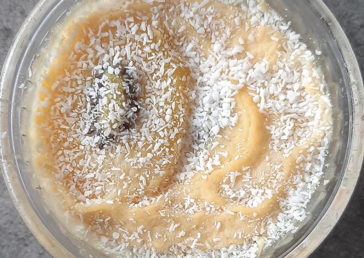 Recette Savoureux Flan de kiwis à la noix de coco