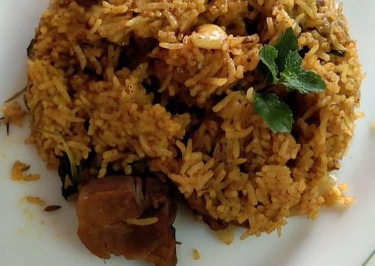 Step-by-Step Guide to Make Quick Mutton biriyani