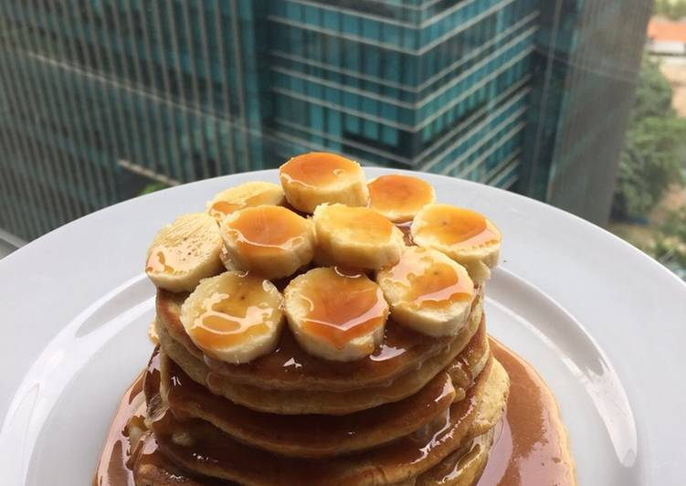 Foods That Can Make Your Mood Better Caramel Pancake