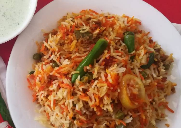 How to Make Ultimate Qeema Biryani #CookpadApp #RiceContest