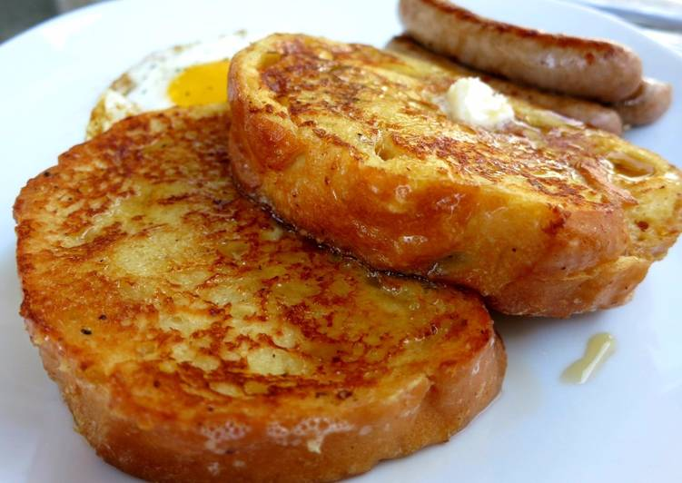 Recipe: Perfect French Toast for One