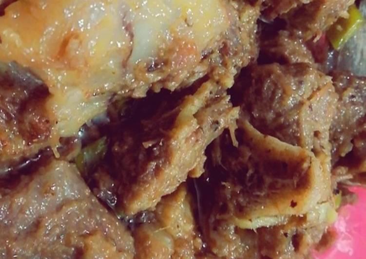 Recipe of Speedy Namkeen karahi dumba gosht