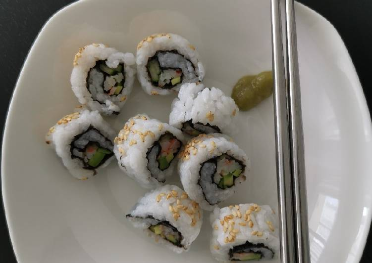 Easiest Way to Prepare Perfect California Rolls