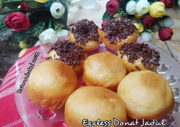 Eggless Donat Jadul Anti Gagal