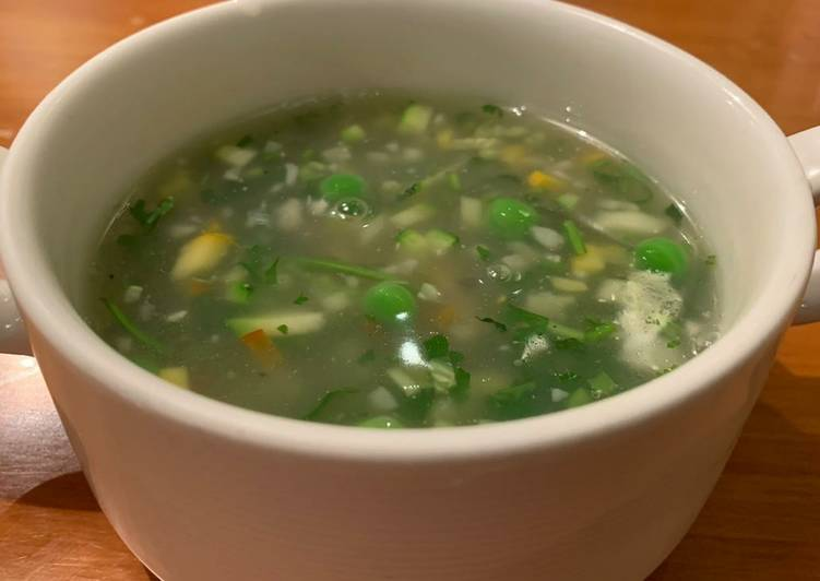 Vegetable Soup, Deciding on Healthy and balanced Fast Food