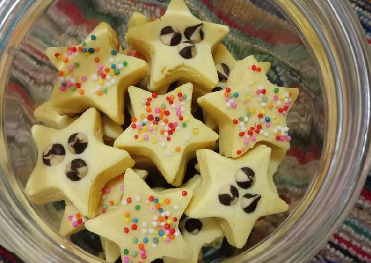 Cara Gampang Menyiapkan Star Cookies, Sempurna