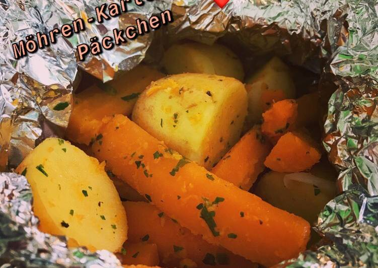 Möhren-Kartoffel-Päckchen