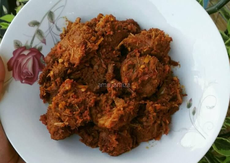 Rendang Daging Sapi (5 Jam)