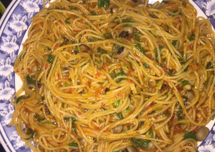 Your Overall Health Can Be Affected By The Foods You Choose To Eat Spaghetti and beans jallof