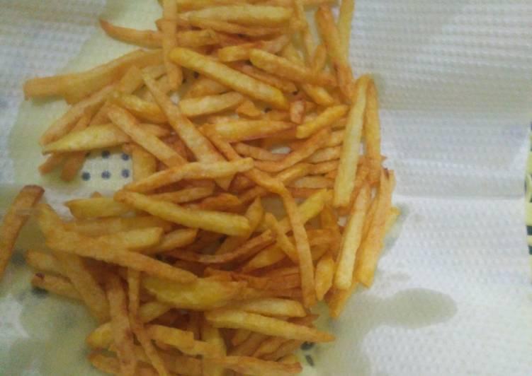 Kentang goreng krispy tahan lama krispy nya