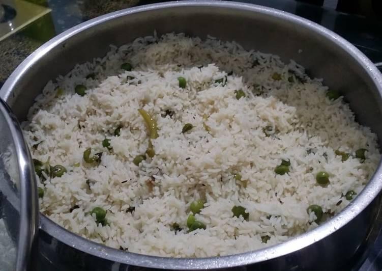 Recipe of Ultimate Hyderabadi Baghara Khana with Green Peas