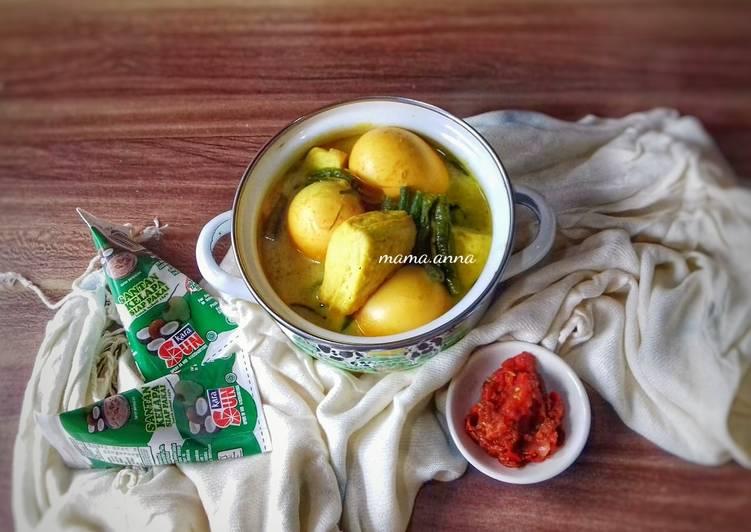 Gulai Kuning Tahu Telur Simpel #noribet