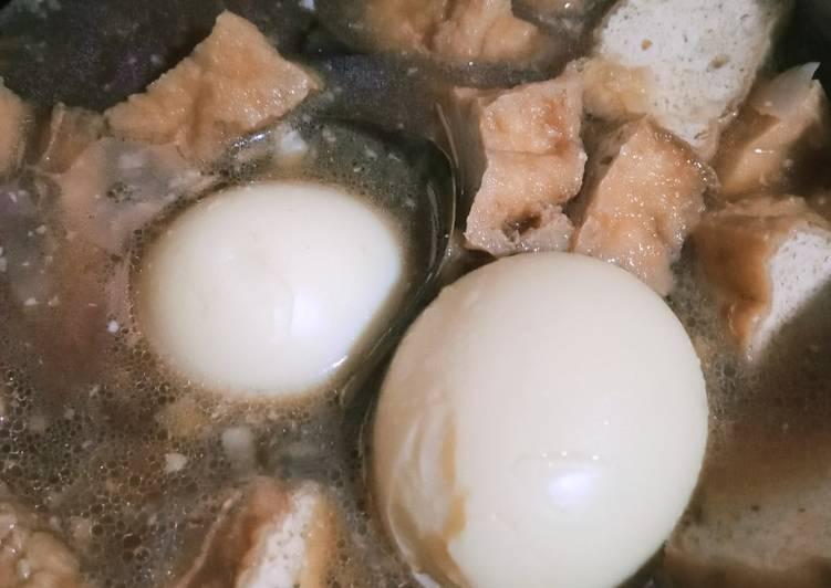 Semur telur tahu