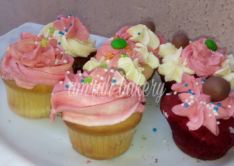 Steps to Prepare Homemade Cup cake frosting