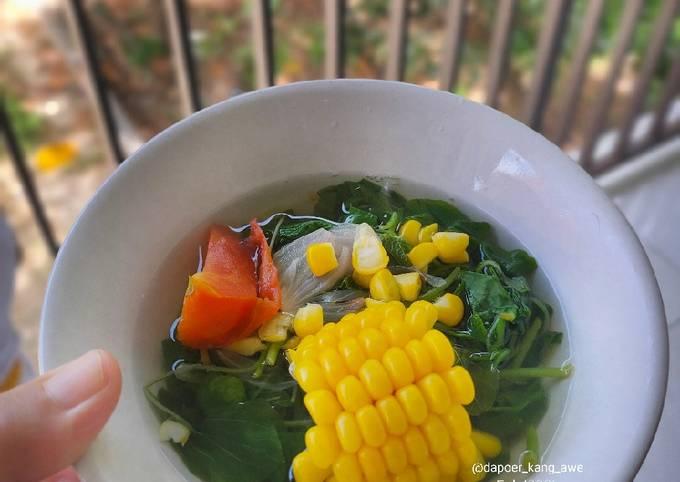 Bening Sayur Bayam (Diet)