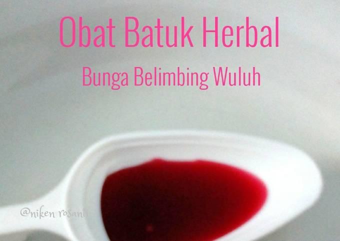 Obat Batuk Herbal dari Bunga Belimbing Wuluh