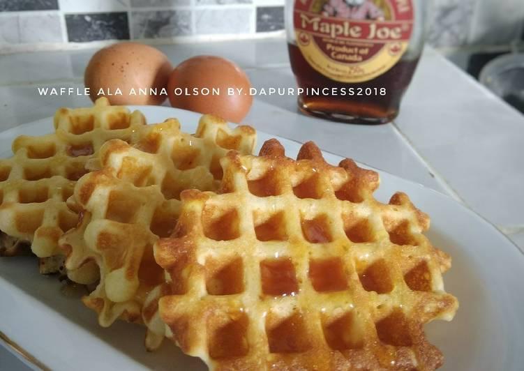 Resep Waffle ala Anna Olson Bikin Ngiler