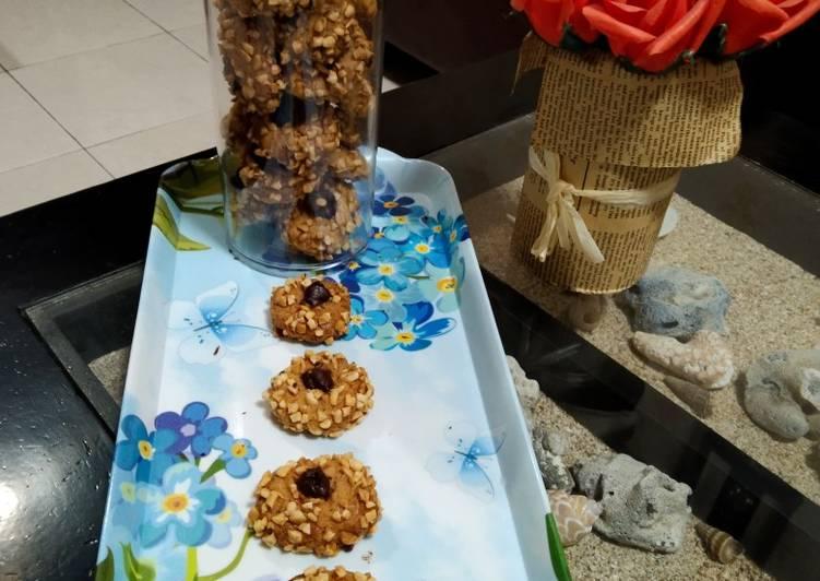 Langkah Mudah untuk Menyiapkan Coklat Kacang Cookies Anti Gagal