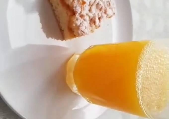 Gâteau ultra moelleux au confiture