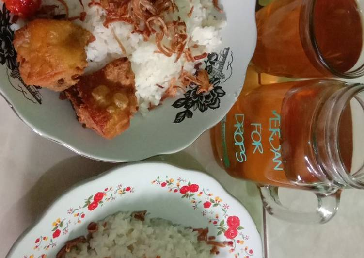 Resep nasi uduk rice cooker kecil ala bunda neya
