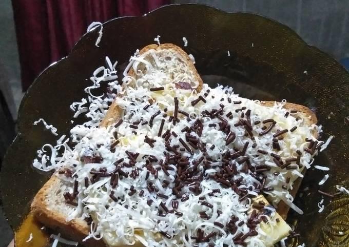 Roti Bakar Keju coklat untuk diet