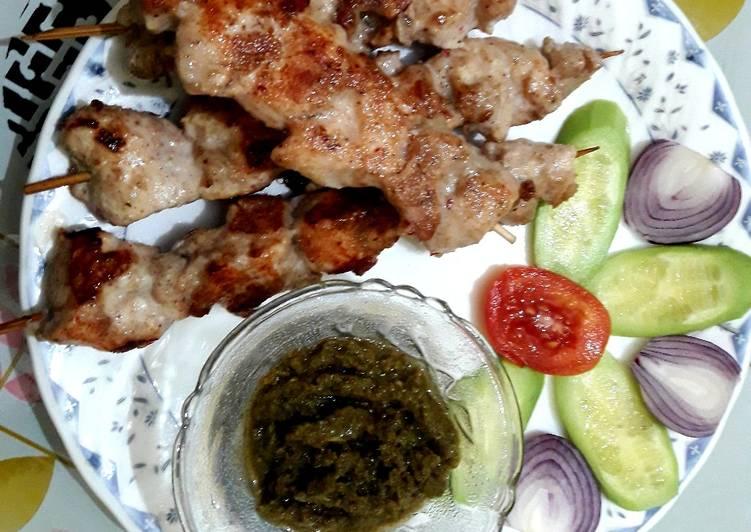 Ghee Roast Chicken Kebab Finding Healthful Fast Food