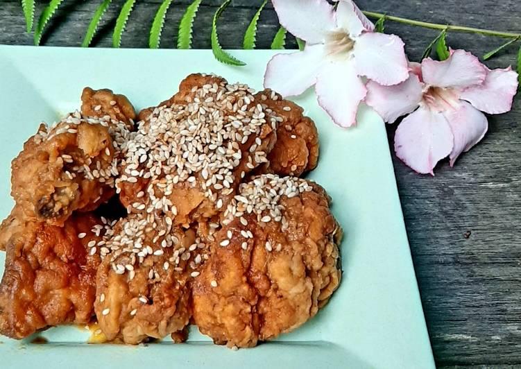 Ayam Goreng Tepung Saus Tiram