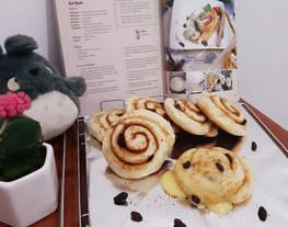Cinnamon Roll Bread    Menu makanan ala Cafe Hits