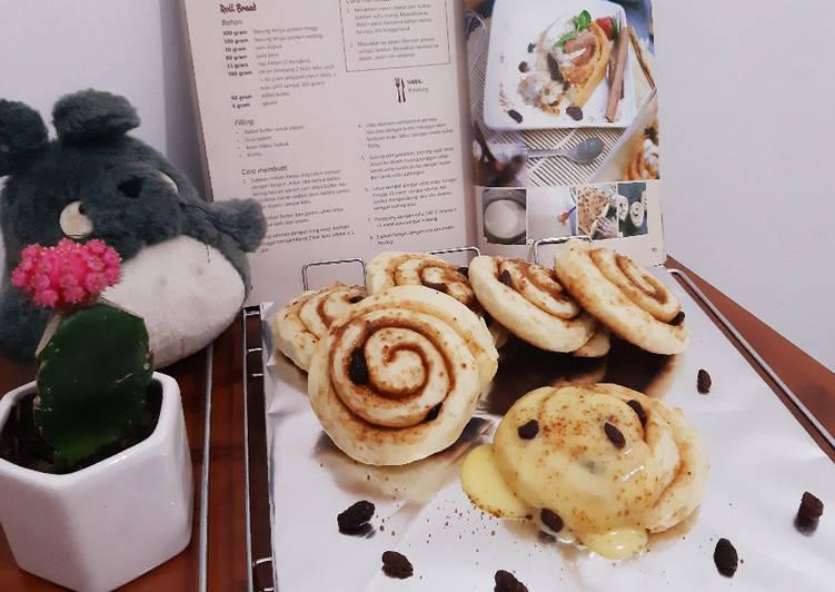 Cinnamon Roll Bread || Menu makanan ala Cafe Hits