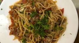 Hình ảnh món Mì Spaghetti cho bé (Công thức không cần nước sốt Spaghetti)