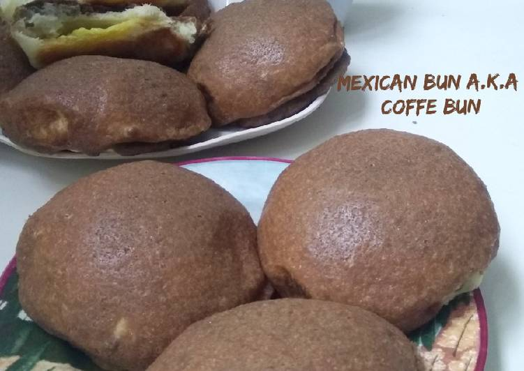 Mexican Bun a.k.a Coffe Bun