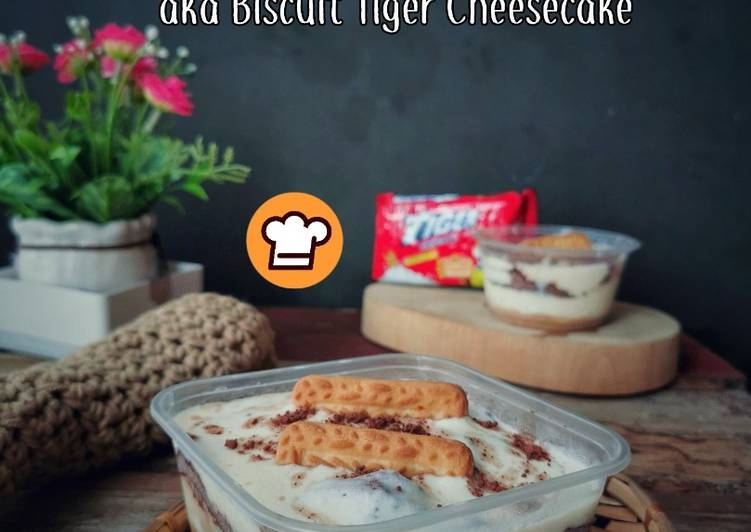 Biscoff Cheesecake (aka Biscuit Tiger Cheesecake)