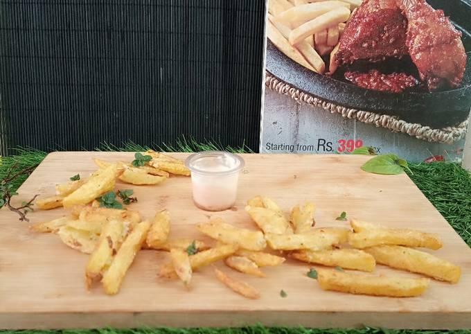 Crispy fries 🍟