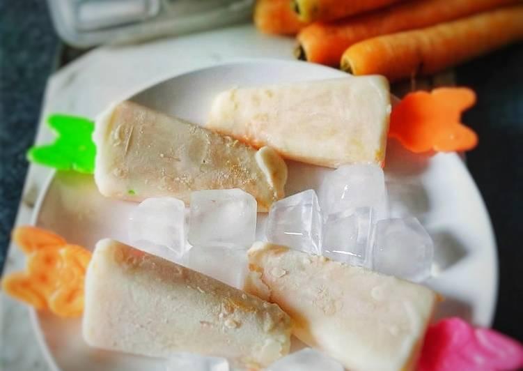 Carrot Popsicle