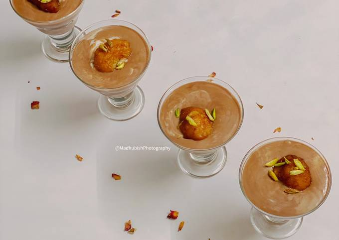 Easiest Way to Prepare Appetizing Gulab Jamun Mousse