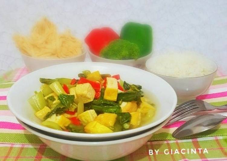 Tumis Sayur dan Tahu#4